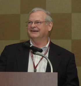 Dr. Jim McGrann, Texas A&M AgriLife Extension Service professor emeritus. (Texas A&M AgriLife Extension Service photo by Blair Fannin)